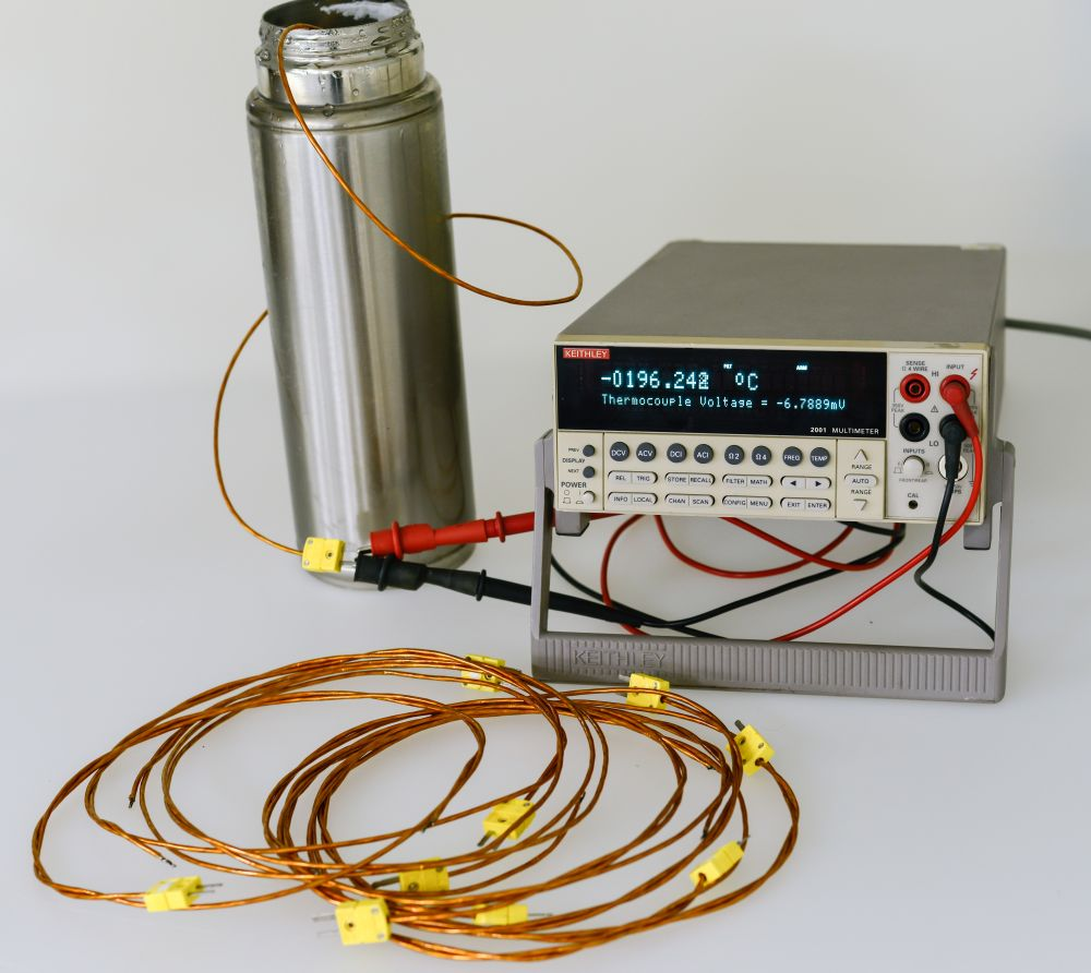 K Type Thermocouple Welding Wire - WIRE Center •